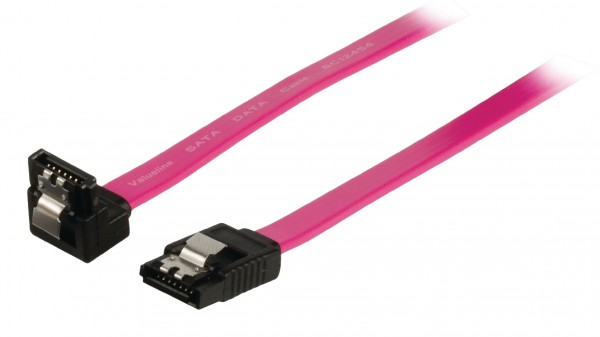 SATA 3 Gb/s-Kabel Intern SATA 7-pol. female - SATA 7-pol. female 0.50 m Rot