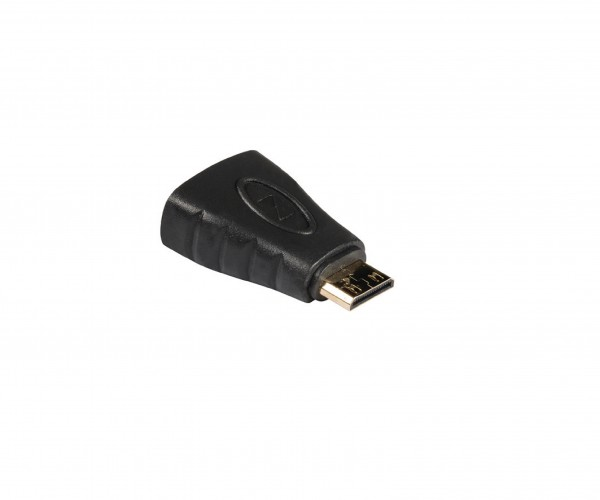 High-Speed-HDMI mit Ethernet-Adapter HDMI Mini Stecker - HDMI-Buchse Anthrazit