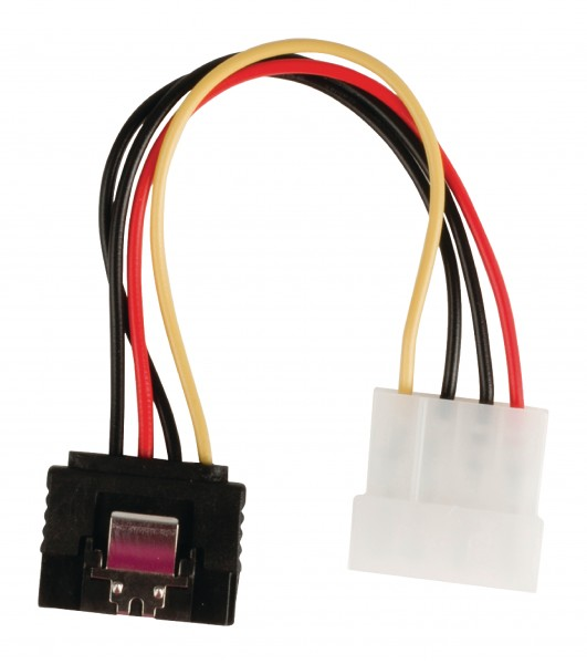 Interne Stromkabel Molex male - SATA 15-pol. female 0.15 m