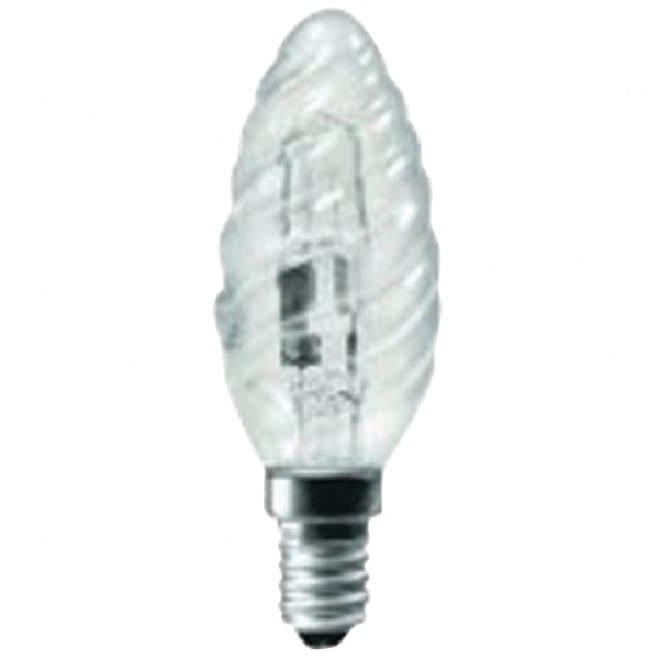 Halogen-Lampe E14 Candle Bent Tip Twisted 28 W 370 lm 2800 K